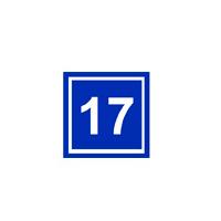 Знаки для Подмосковья. Несветовая табличка с нумерацией здания