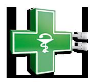 Аптечные кресты. Аптечный крест без подсветки